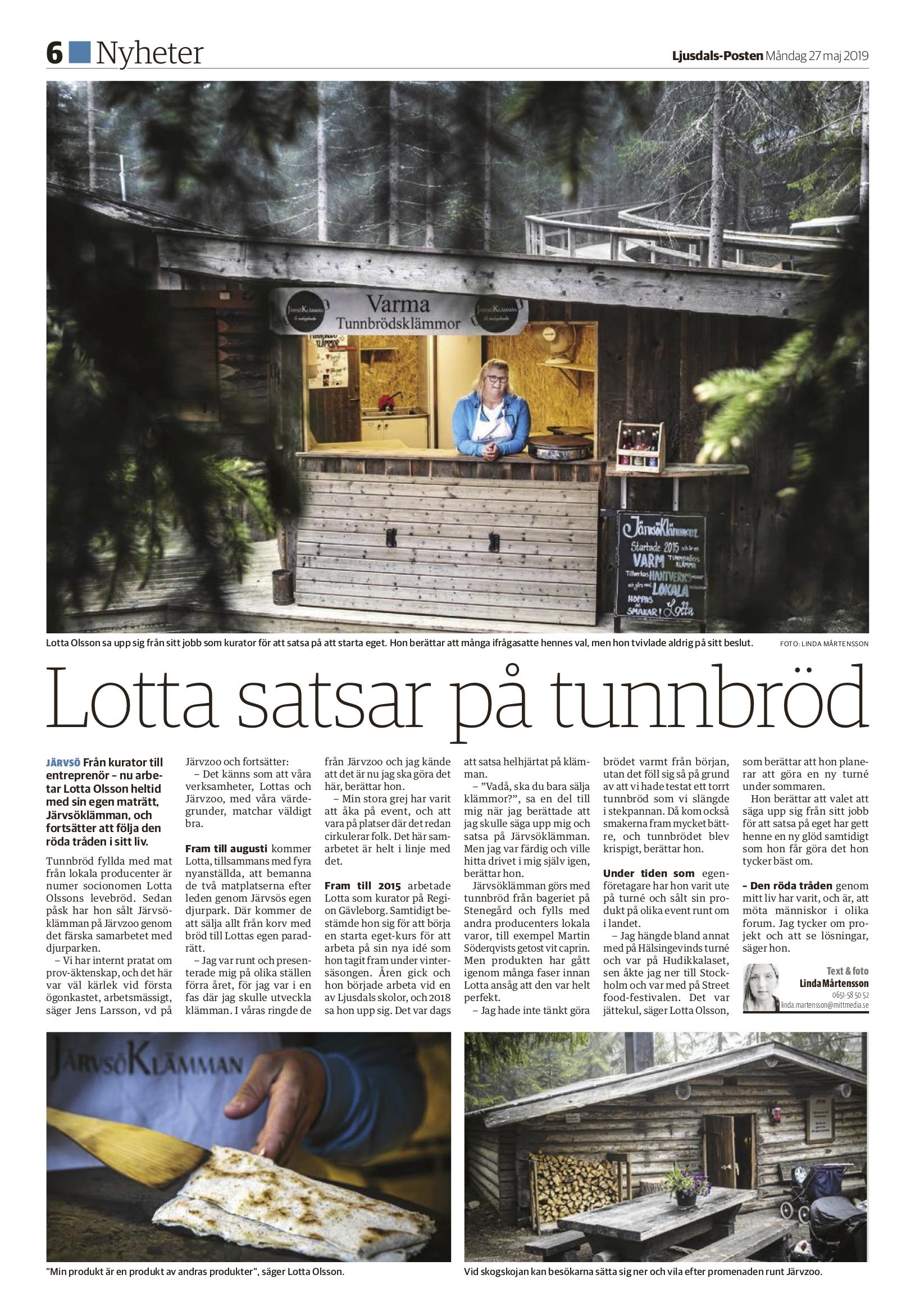 Ljusdals-Posten 2019-05-27