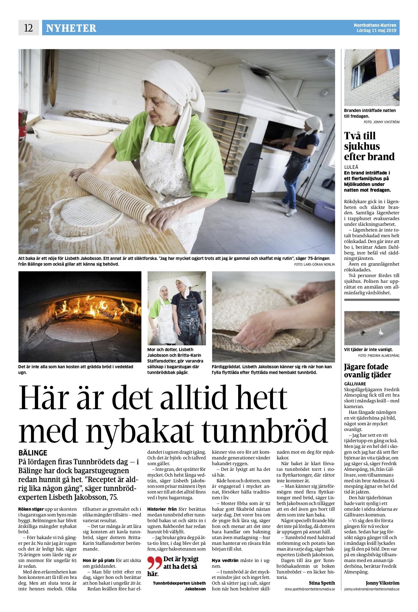 Norrbottens-Kuriren 2019-05-11 2