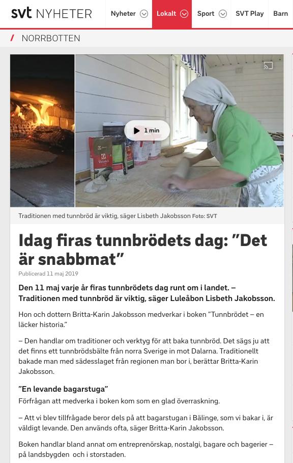 SVT Nyheter Norrbotten 2019-05-11